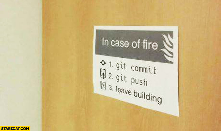 If you don't push your code - it won't be added to the main codebase